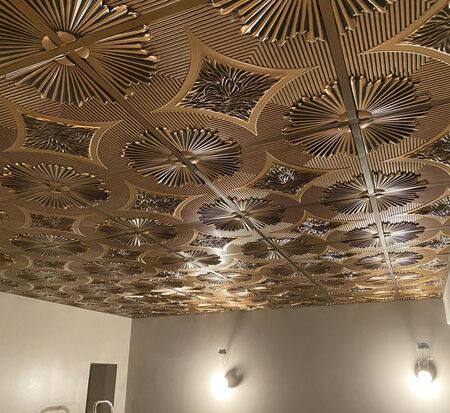 Grid & Glue Up 2x2 Ft Ceiling Tiles